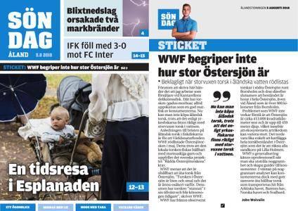Ålandstidningen – 05 augusti 2018