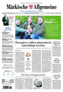 Neue Oranienburger Zeitung - 27. Dezember 2018