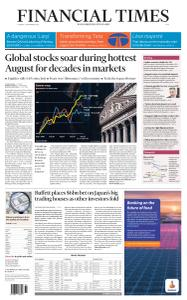 Financial Times Asia - September 1, 2020