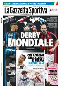 La Gazzetta dello Sport Sicilia – 21 ottobre 2018