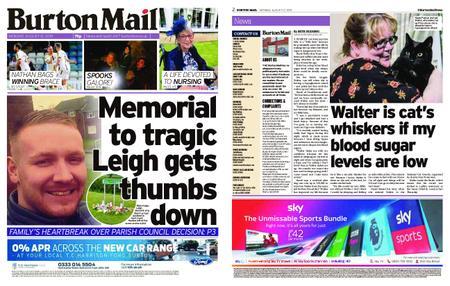 Burton Mail – August 12, 2019