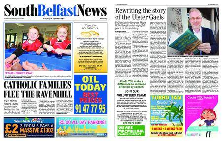 South Belfast News – September 29, 2017