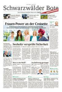 Schwarzwälder Bote Hechingen - 09. Mai 2018