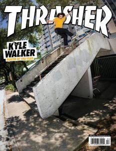 Thrasher Skateboard Magazine - April 2017