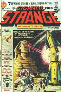Strange Adventures 230-Adam Strange MiS 070, Darwin Jones SA 058 & Atomic Knights SA 156