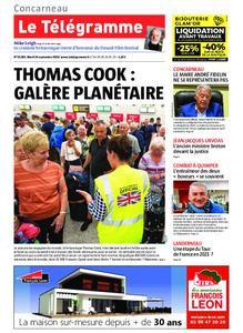 Le Télégramme Concarneau – 24 septembre 2019