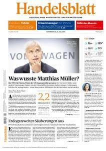 Handelsblatt - 21. Juli 2016