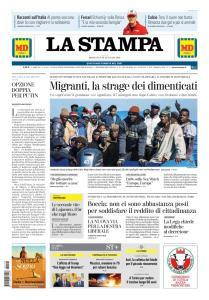 La Stampa Torino Provincia e Canavese - 20 Gennaio 2019