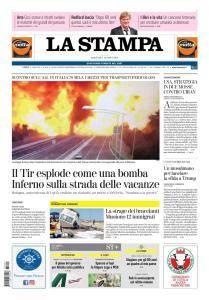 La Stampa Imperia e Sanremo - 7 Agosto 2018