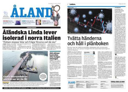 Ålandstidningen – 11 mars 2020