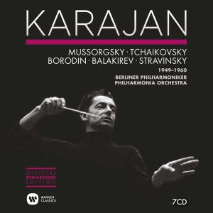 Herbert Von Karajan - Russian Music 1949-1960 (2014) (7 CDs Box Set)