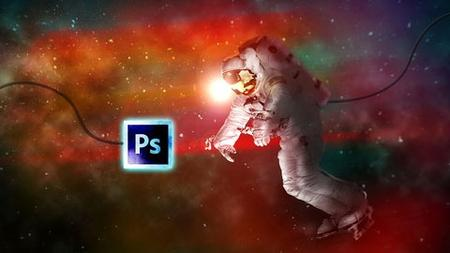 Space Explorer-Photo Composite Photo Manipulation Photoshop
