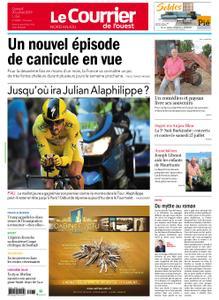 Le Courrier de l'Ouest Nord Anjou – 20 juillet 2019