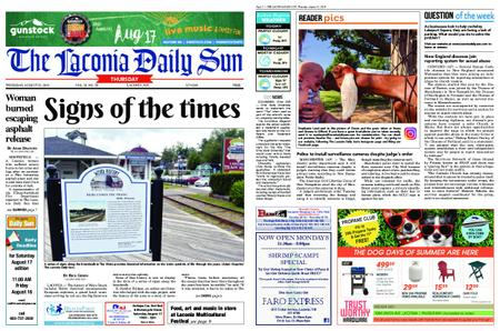 The Laconia Daily Sun – August 15, 2019