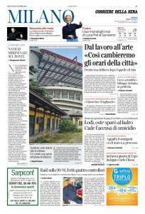 Corriere della Sera Milano - 26 Ottobre 2017