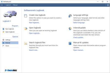 SoftwareNetz Logbook 3.05 Multilingual