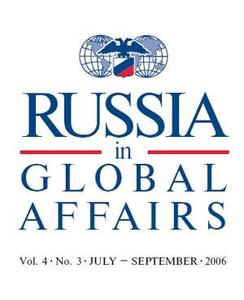 Russia in global affairs. July-September 2006