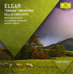 Mischa Maisky, Giuseppe Sinopoli - Edward Elgar: Cello Concerto, 'Enigma' Variations, 'Pomp and Circumstance' (2012)
