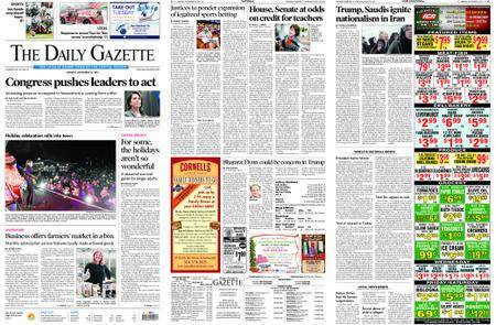 The Daily Gazette – November 27, 2017