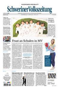 Schweriner Volkszeitung Hagenower Kreisblatt - 19. April 2018