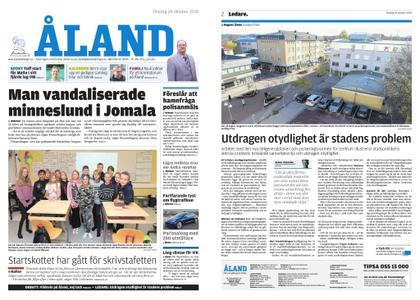 Ålandstidningen – 24 oktober 2018
