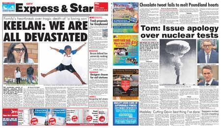 Express and Star City Edition – June 01, 2018