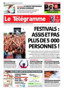 Le Télégramme Ouest Cornouaille – 19 février 2021