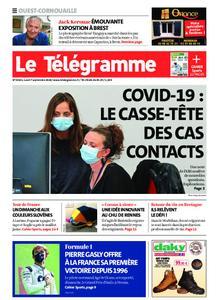 Le Télégramme Ouest Cornouaille – 07 septembre 2020