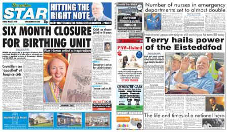 Shropshire Star Shrewsbury Edition – May 31, 2019