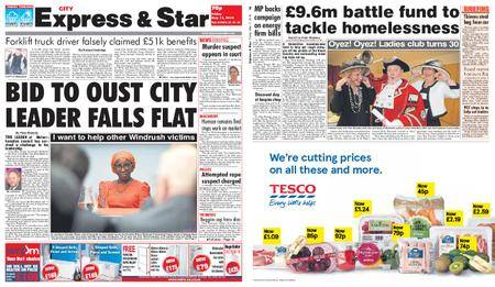 Express and Star City Edition – May 11, 2018