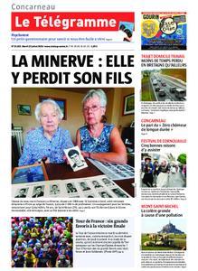 Le Télégramme Concarneau – 23 juillet 2019