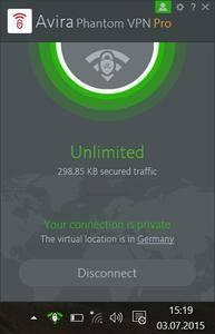 Avira Phantom VPN Pro 2.19.3.24127