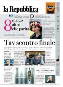 la Repubblica - 8 Marzo 2019