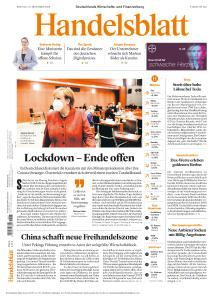 Handelsblatt - 16 November 2020