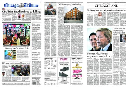 Chicago Tribune – November 17, 2018