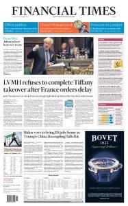 Financial Times Europe - September 10, 2020