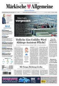 Märkische Allgemeine Dosse Kurier - 27. Januar 2018