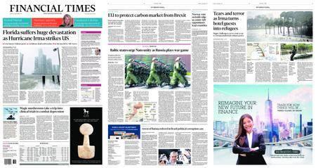 Financial Times USA – September 11, 2017