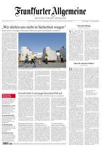 Frankfurter Allgemeine Zeitung - 8 April 2020