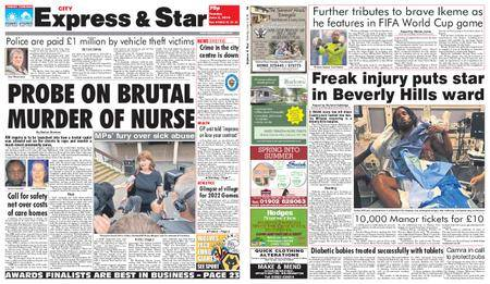 Express and Star City Edition – June 05, 2018