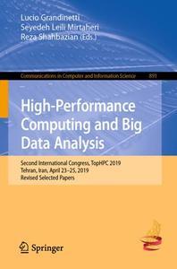 High-Performance Computing and Big Data Analysis