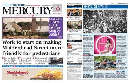 Hertfordshire Mercury – September 13, 2018