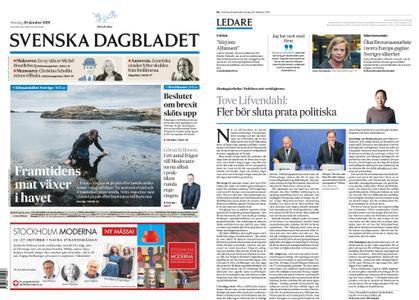 Svenska Dagbladet – 20 oktober 2019