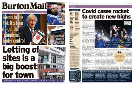 Burton Mail – July 21, 2021