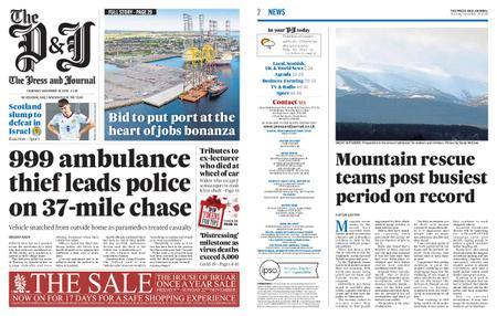 The Press and Journal Moray – November 19, 2020