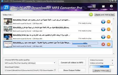 ChrisPC YTD Downloader MP3 Converter 3.30 Multilingual