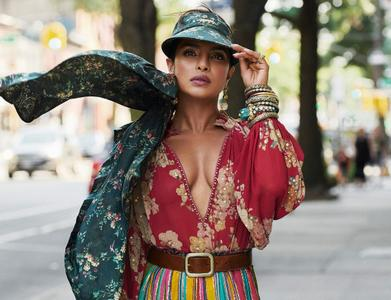 Priyanka Chopra by Marcin Kempski for Vogue India September 2019