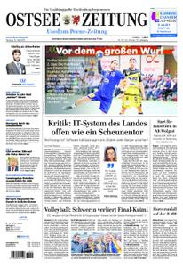 Ostsee Zeitung Wolgast - 13. Mai 2019