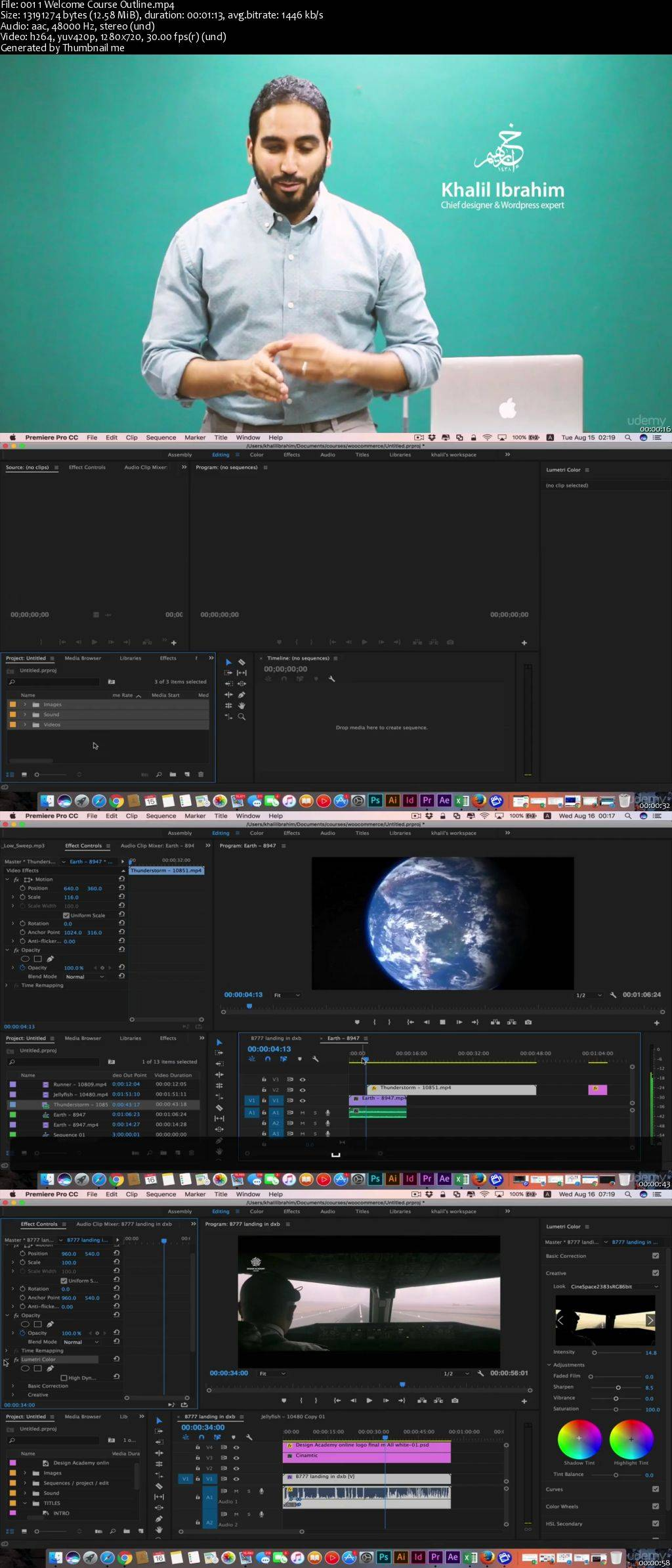 Adobe Premiere Pro CC in JUST 1.5 hrs  Learn Premiere Pro