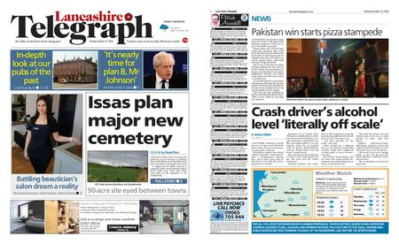 Lancashire Telegraph (Blackburn, Darwen, Hyndburn, Ribble Valley) – October 26, 2021